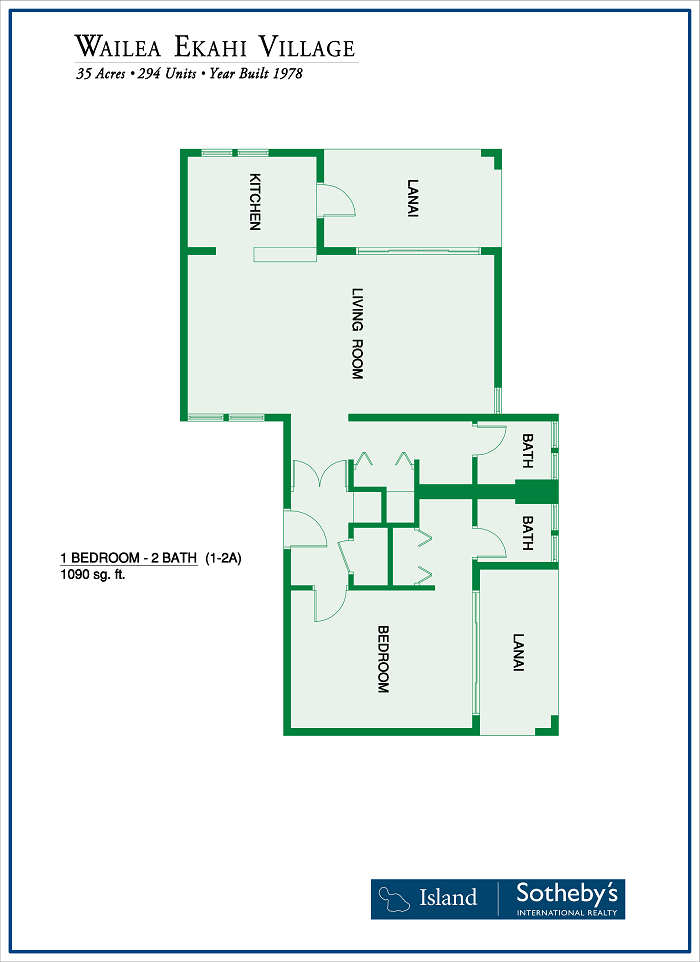 Ekahi Village Floor Plan condo