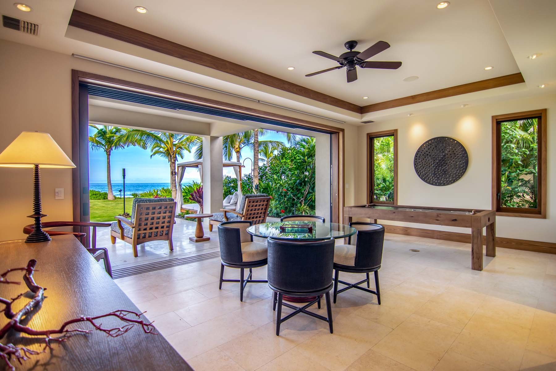 Makena Home Game Room Ocean Views