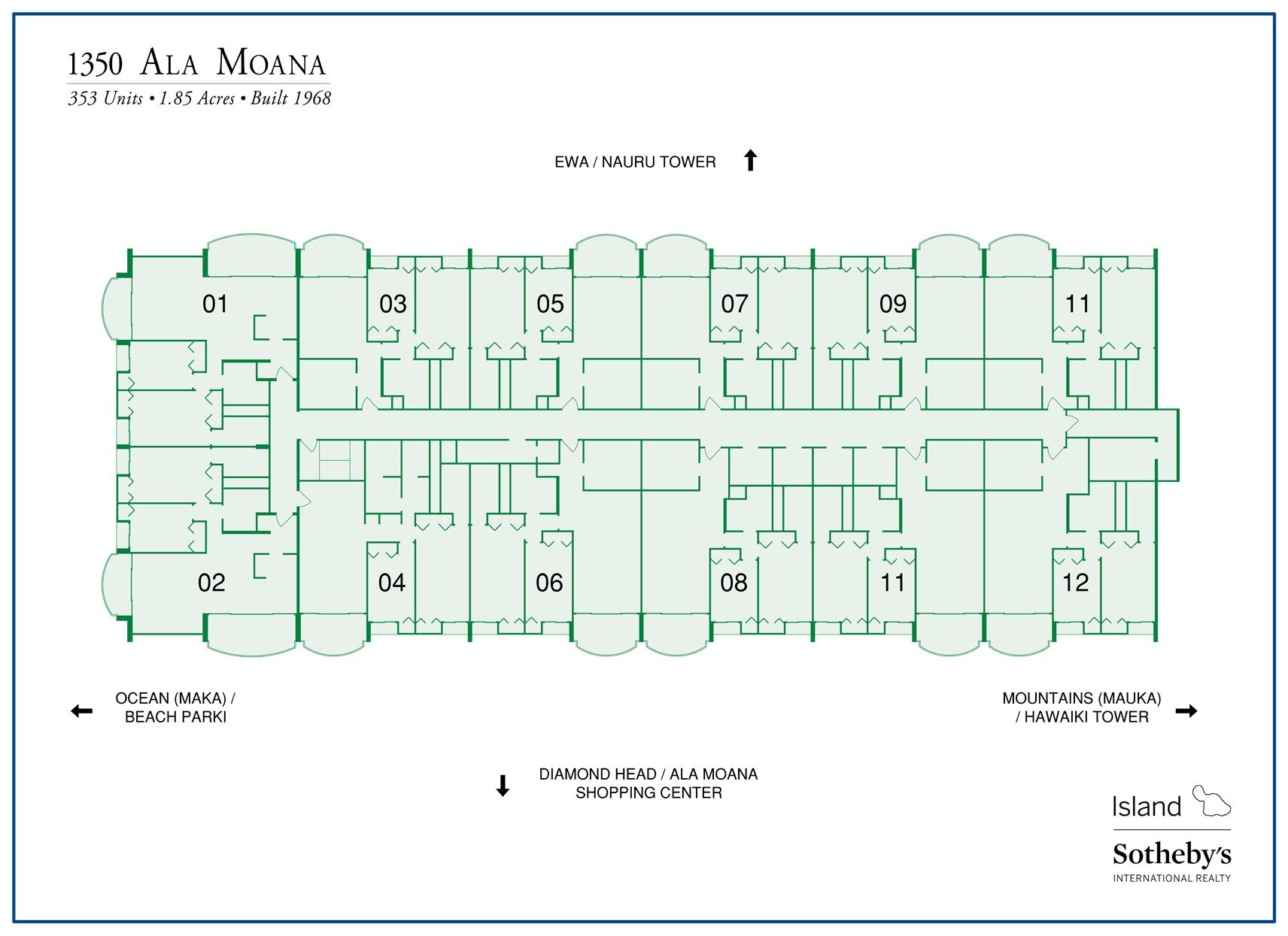 1350 Ala Moana Condos For Sale Honolulu Real Estate
