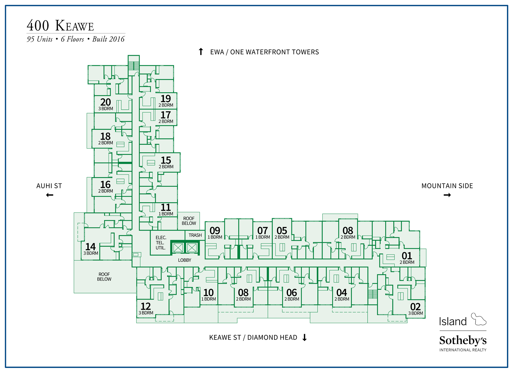 400 keawe site map