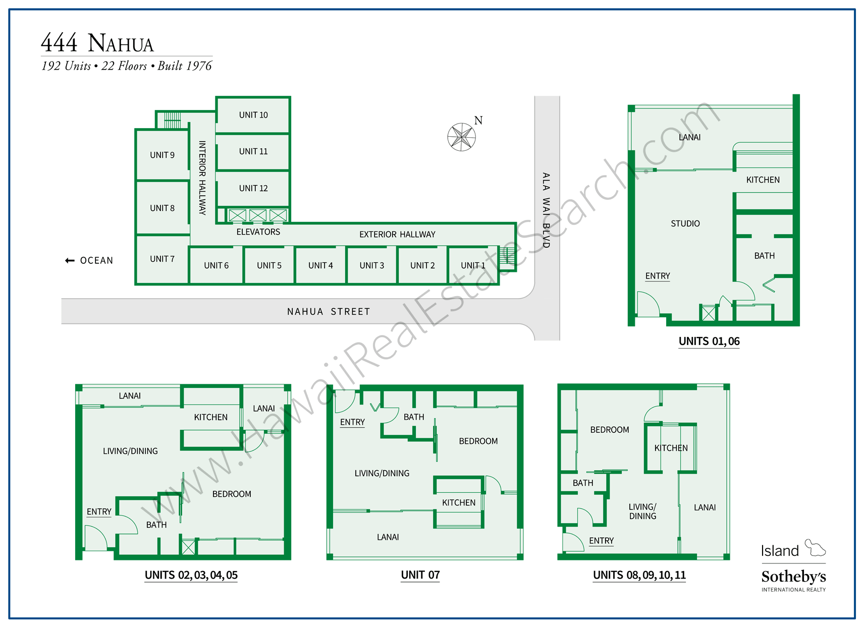 Updated 444 Nahua Map and Floor Plans
