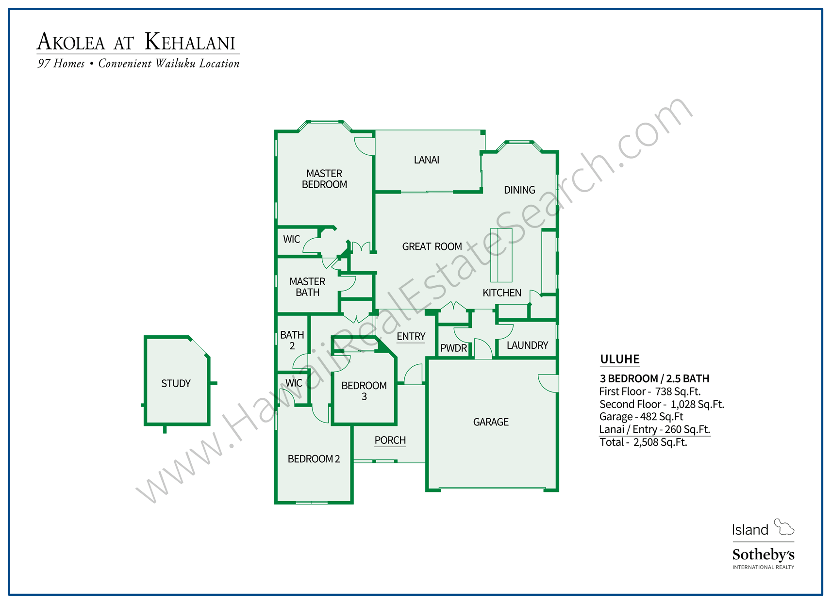 Akolea at Kehalani Floorplan 2