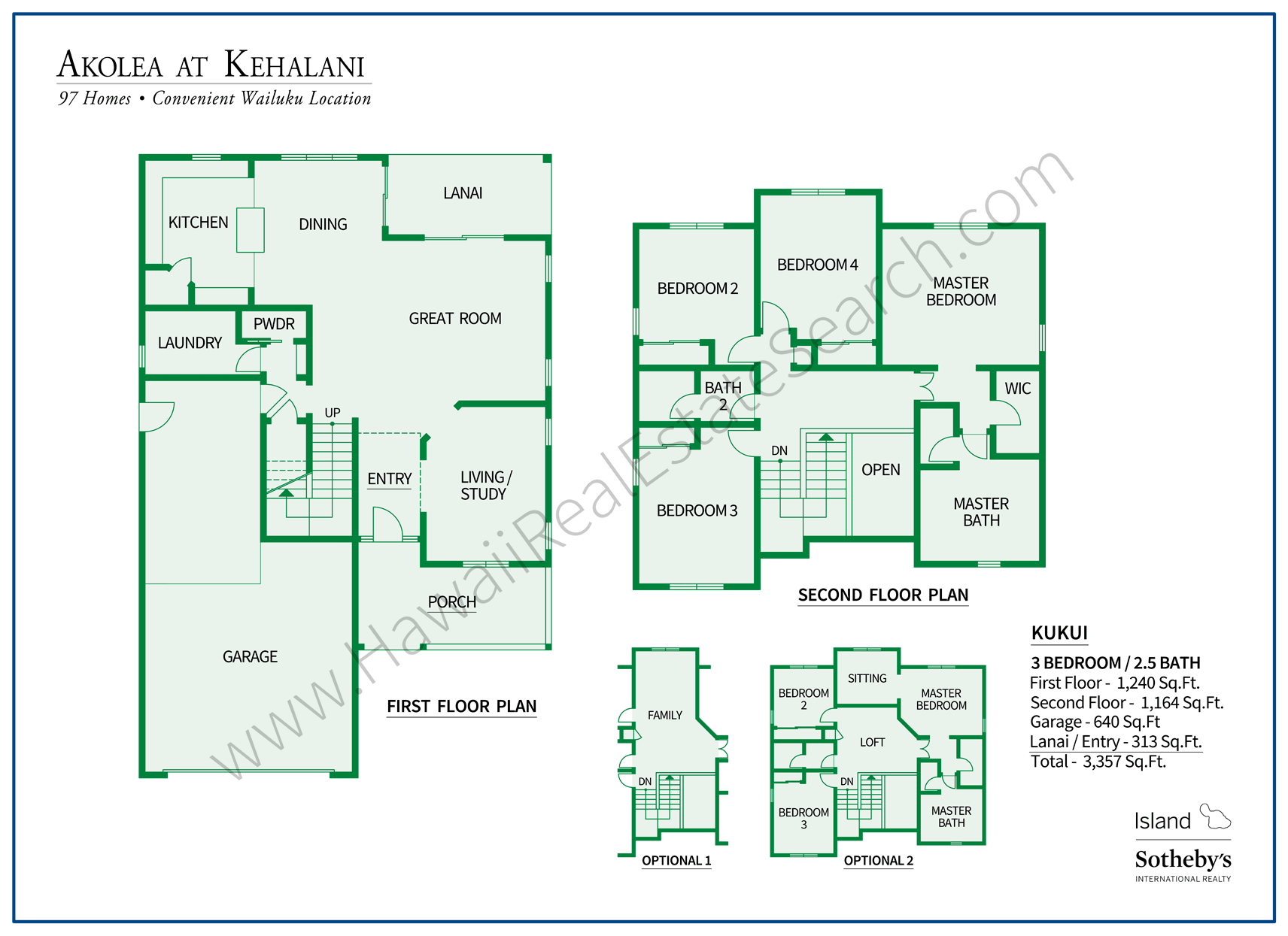 Akolea at Kehalani Floorplan 3