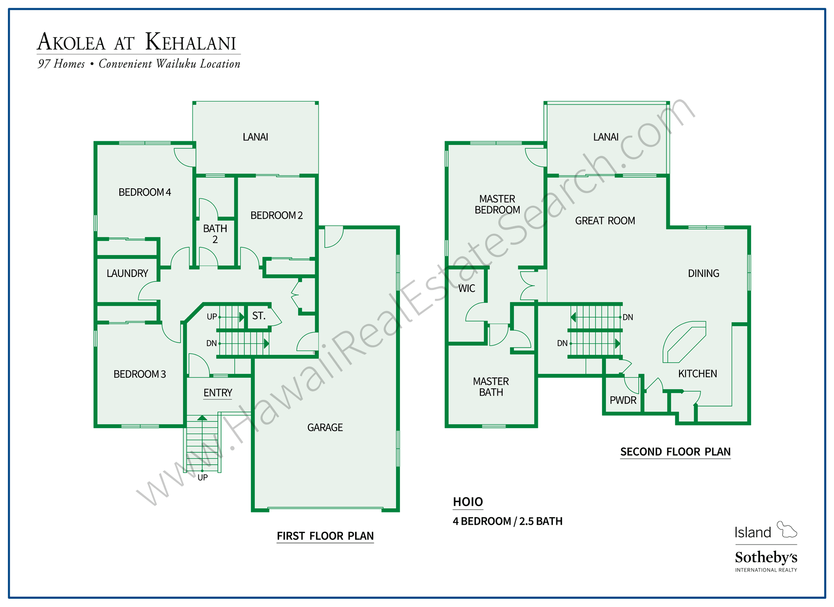 Akolea at Kehalani Floorplan 4