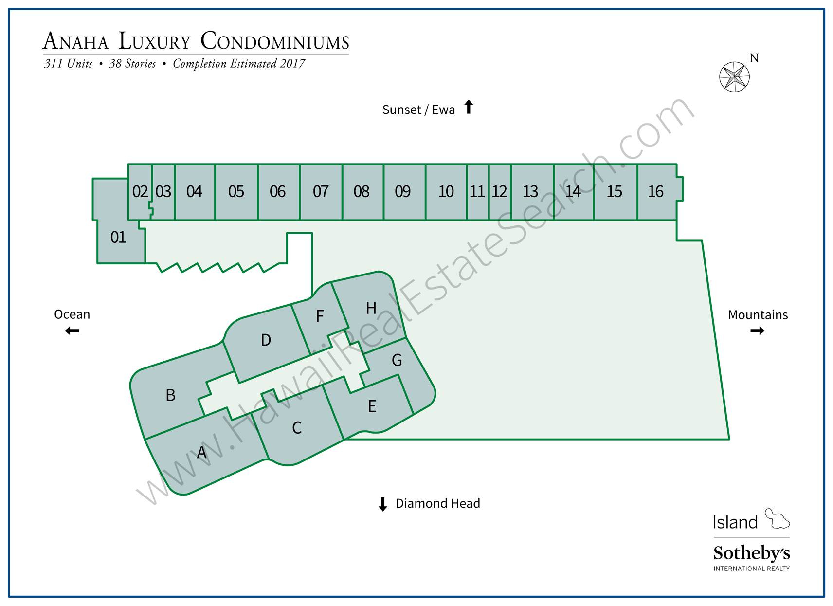 Anaha Property Map