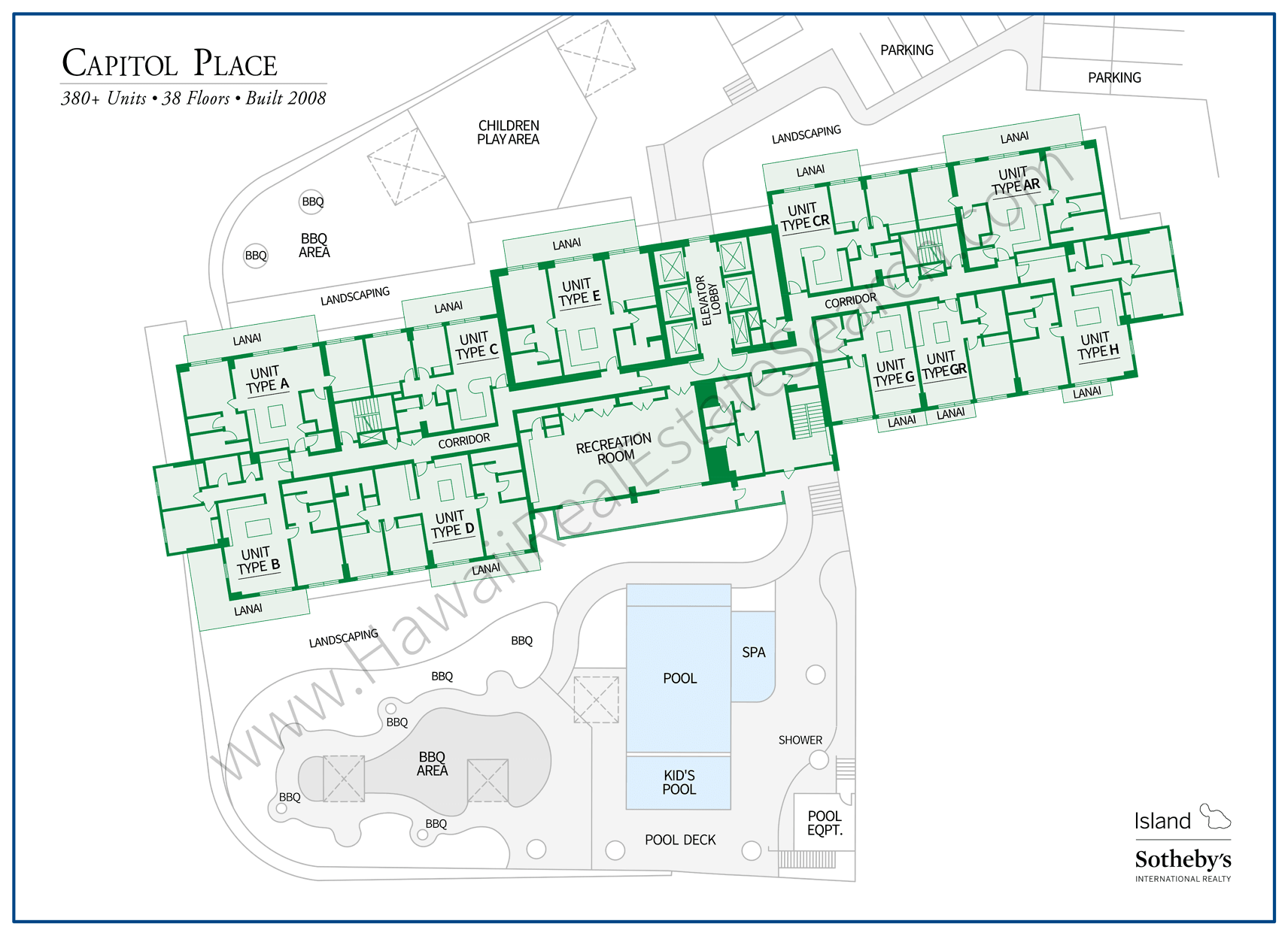 Capitol Place Property Map