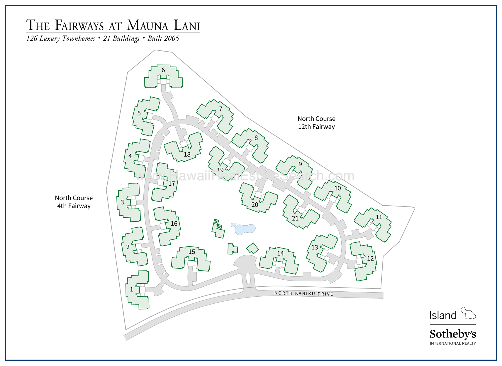 fairways at mauna lani map