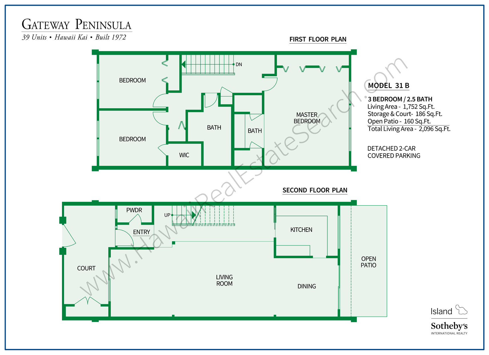 Gateway Peninsula Floor Plan 31B