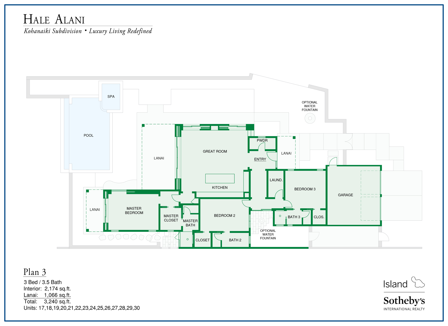 floorplan hale alani house
