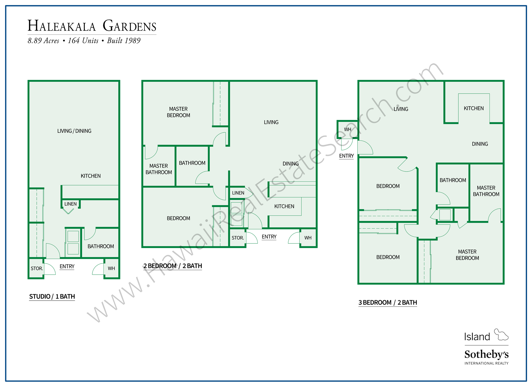 haleakala gardens floor plans