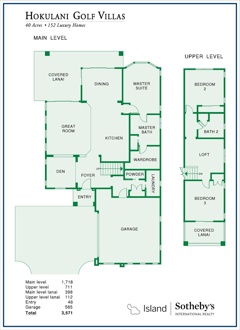floor plan hokulani golf villas