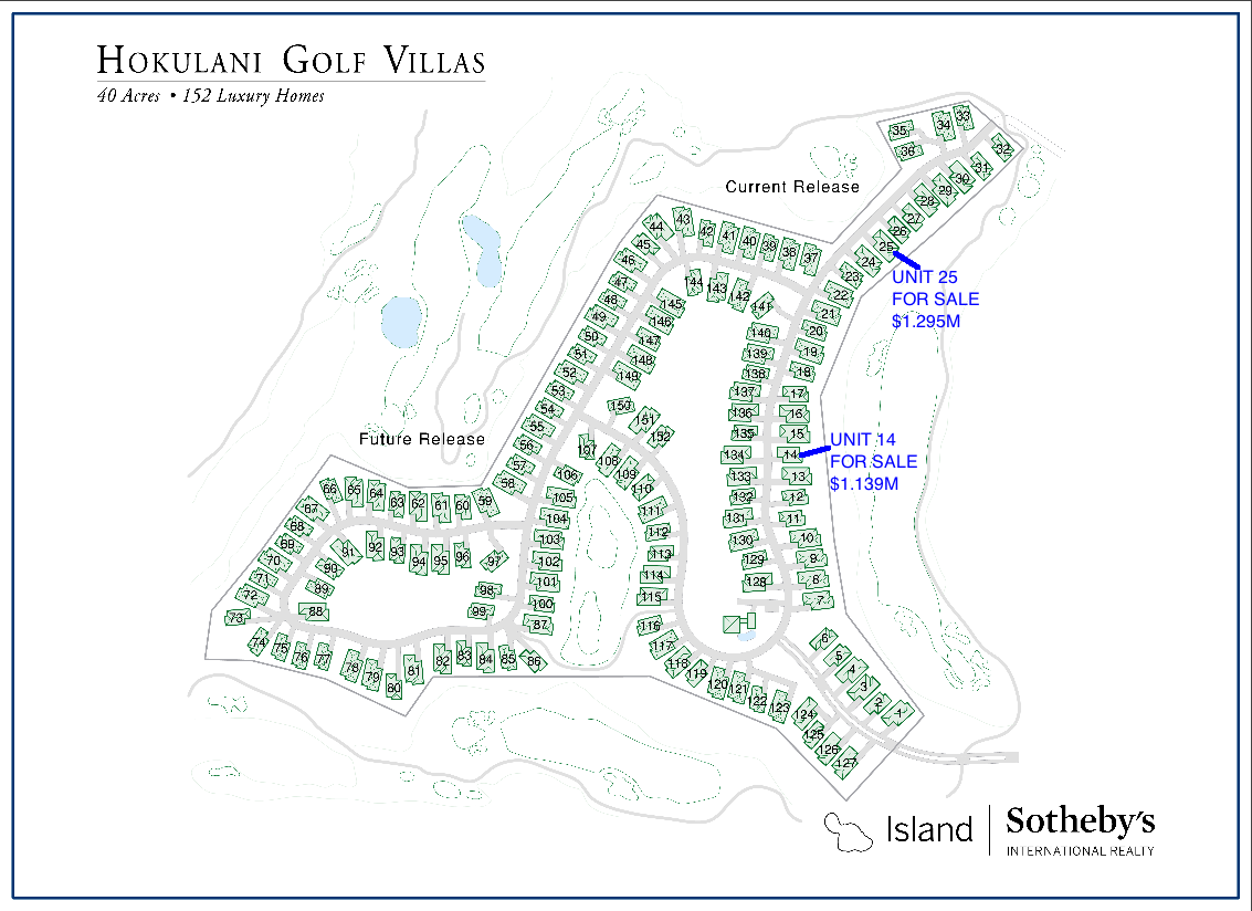 hokulani golf villas map