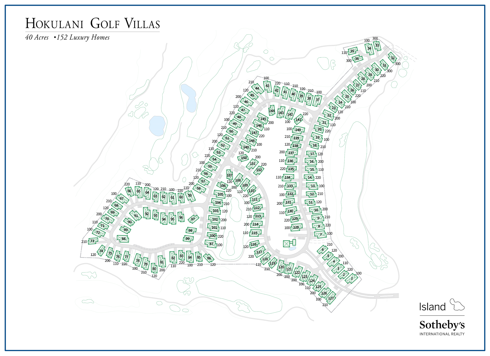 hokulani golf villas map detailed 2018