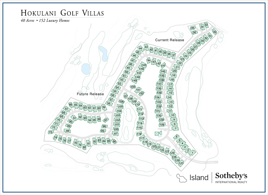 map of hokulani golf villas