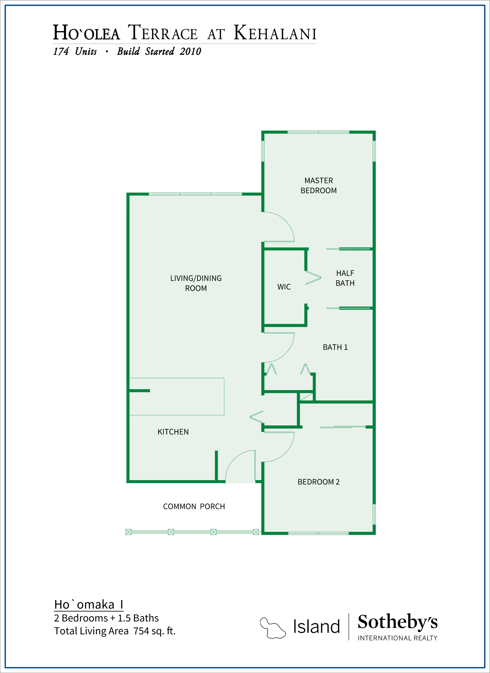 Hoolea Terrace Floor Plan 2