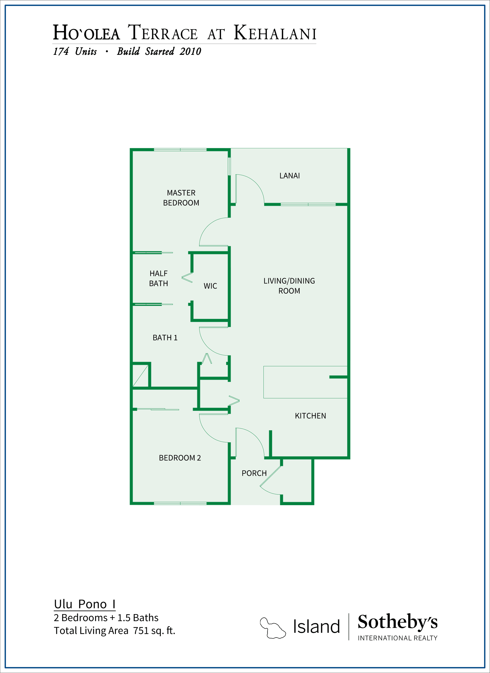 Hoolea Terrace Floor Plan 3