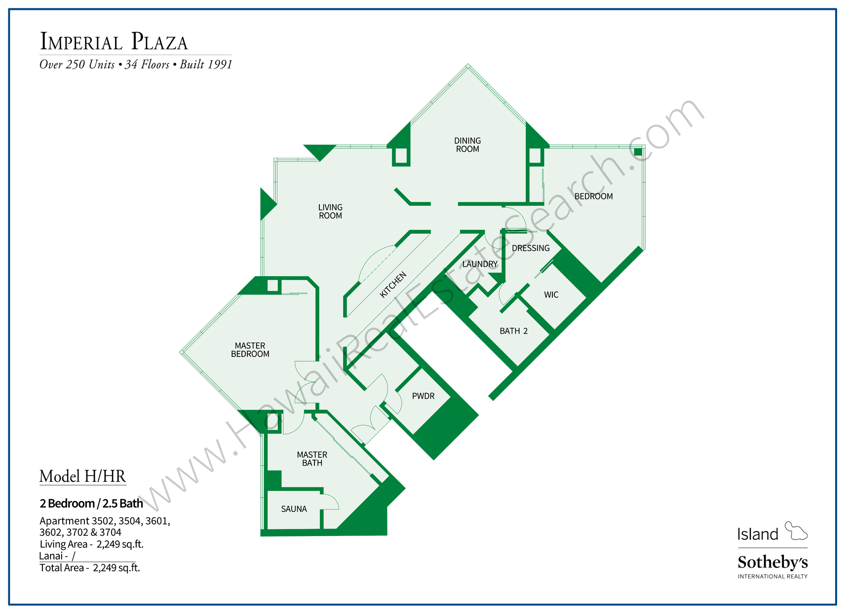 Imperial Plaza Floor Plan H
