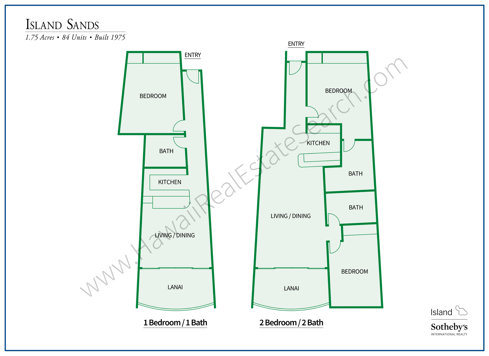 Maalaea Island Sands Floor Plan