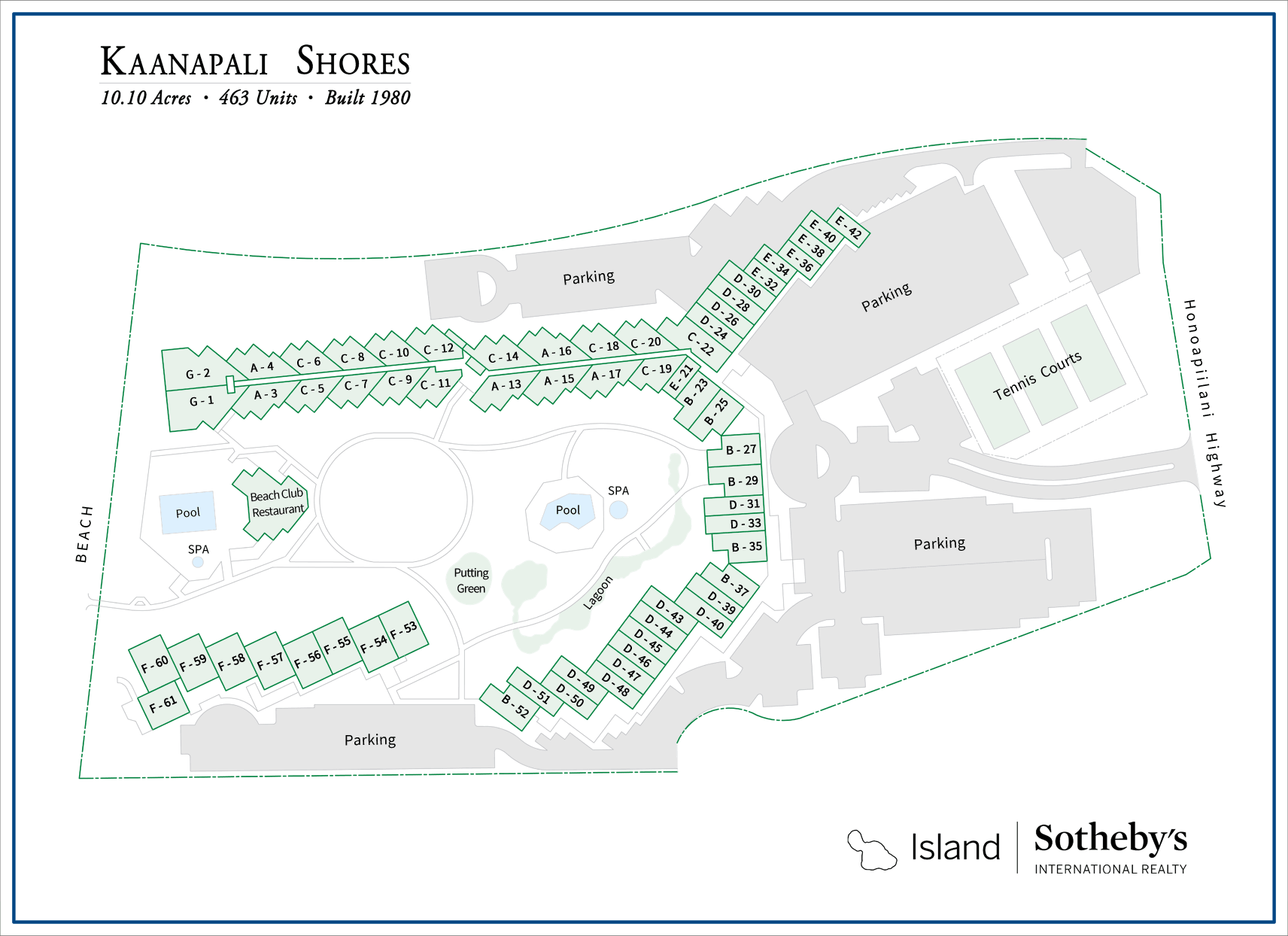 kaanapali shores map