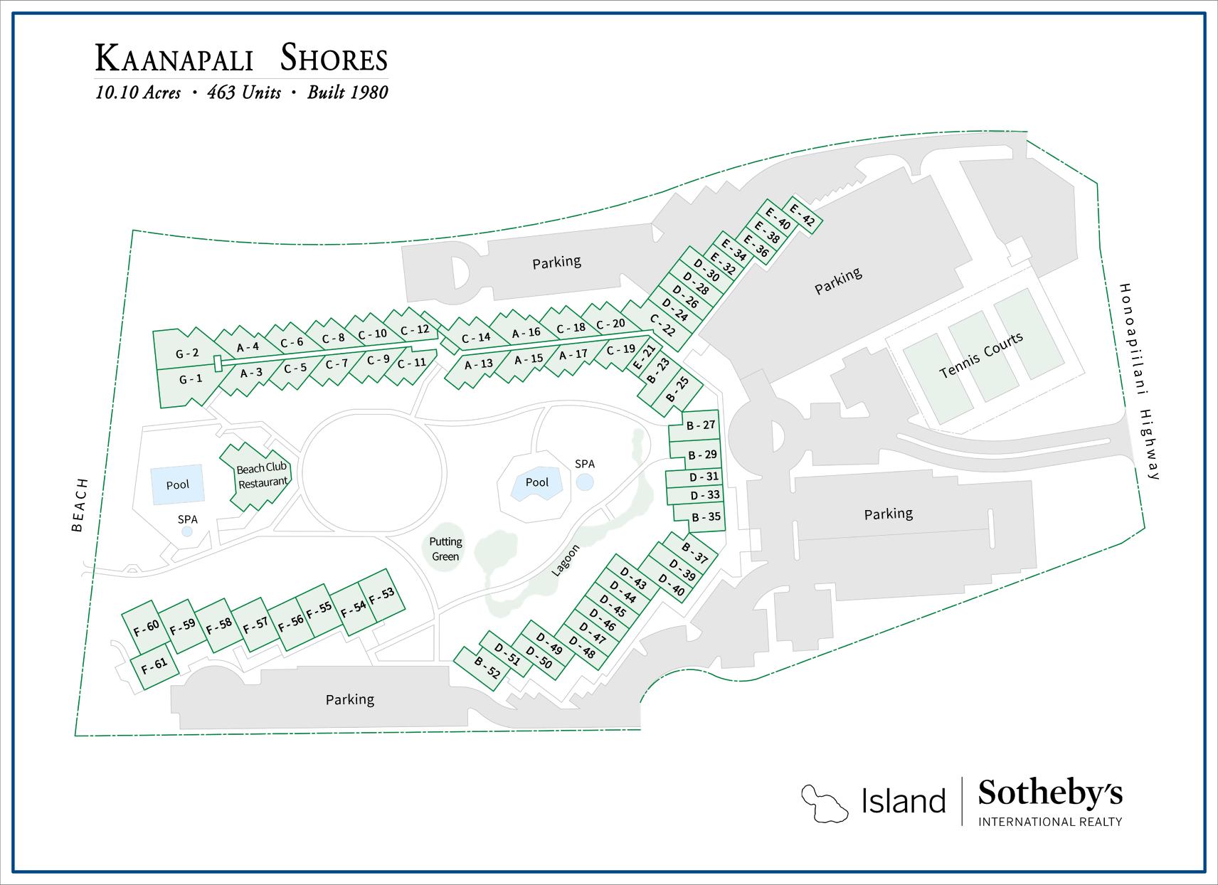 Kaanapali Shores Condos For Sale  Maui, Hawaii