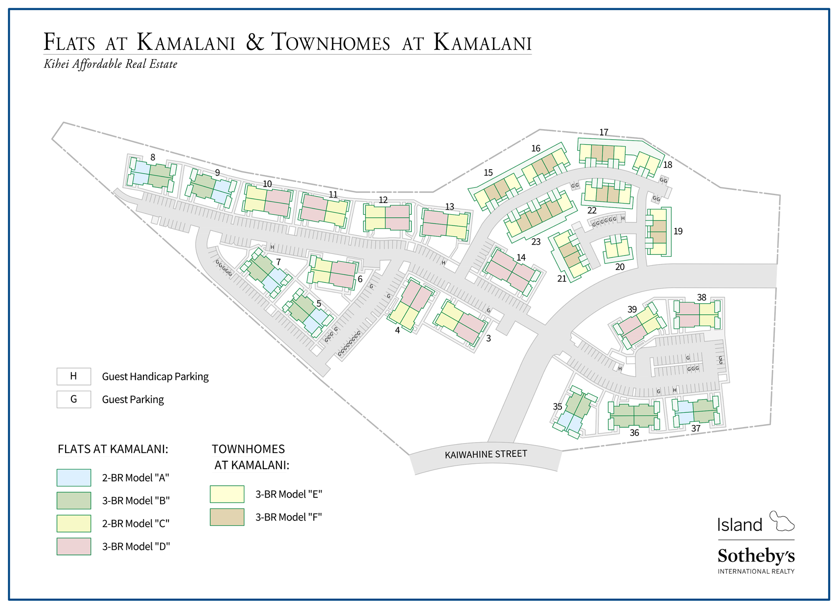 kamalani map kihei