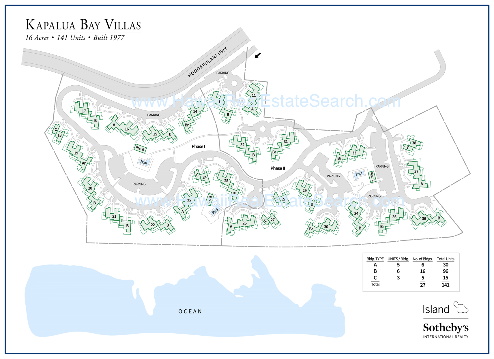 kapalua bay villas map 2018