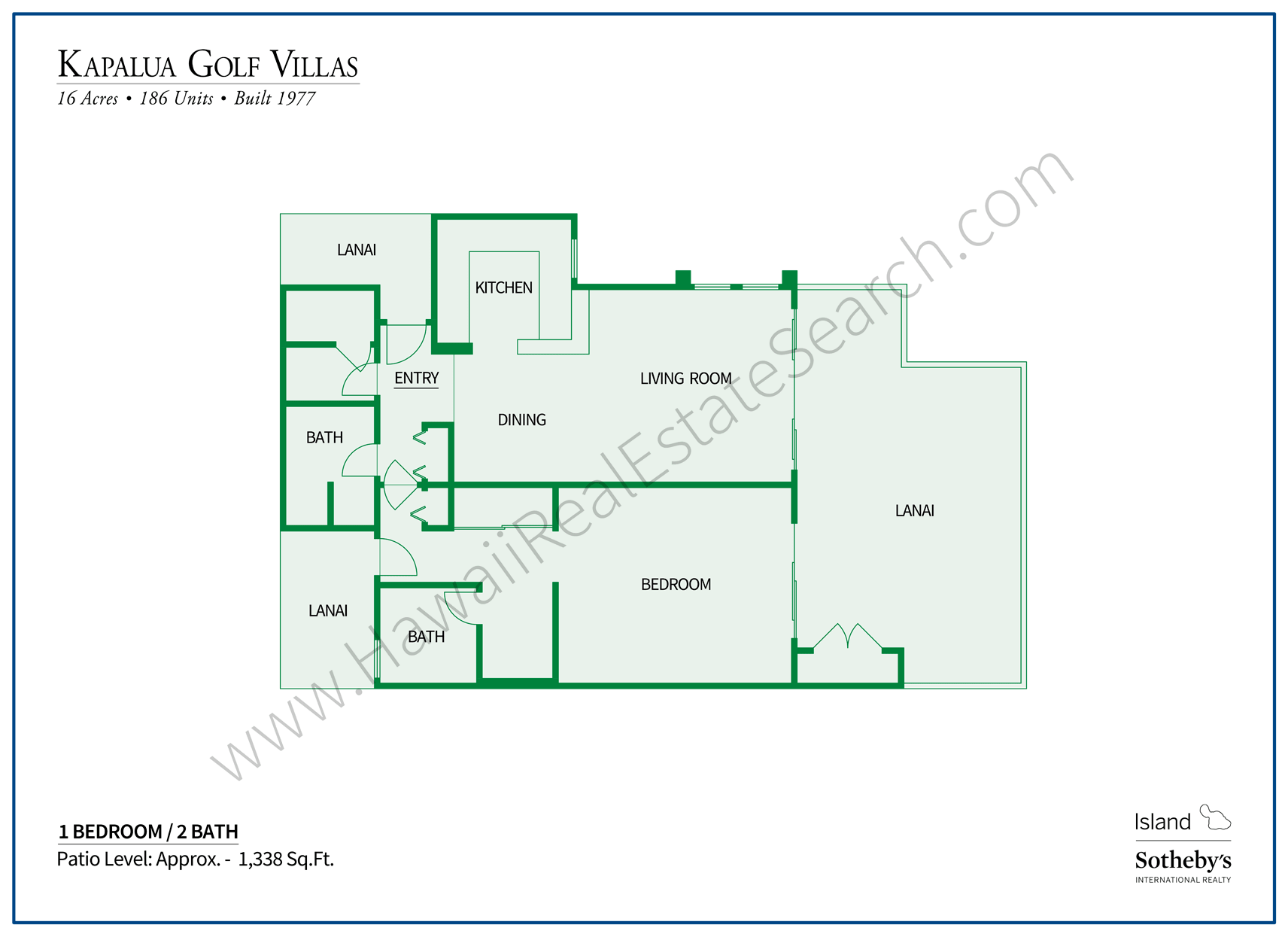 Kapalua Golf Villas Floor Plan 3