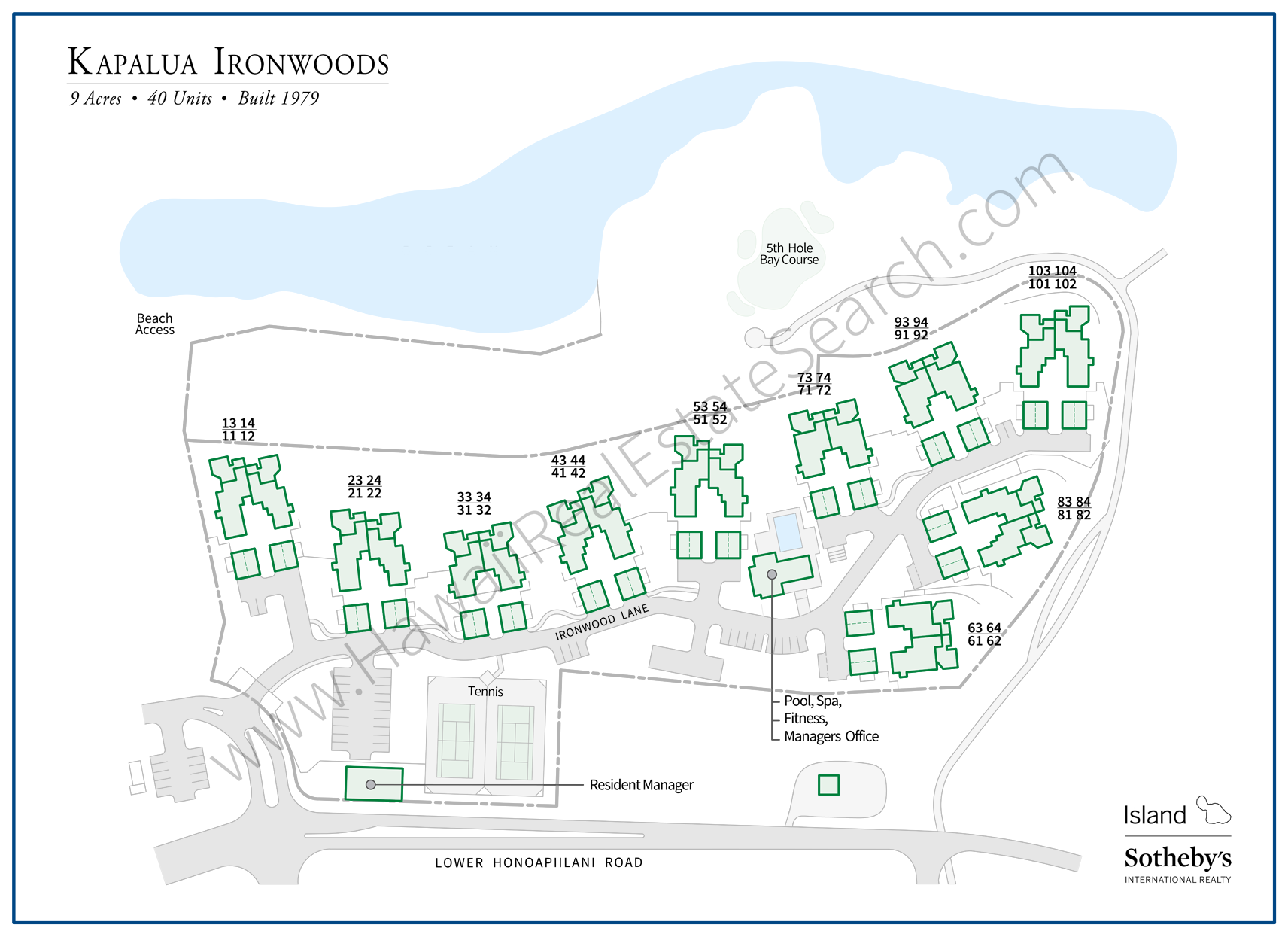 kapalua ironwoods map