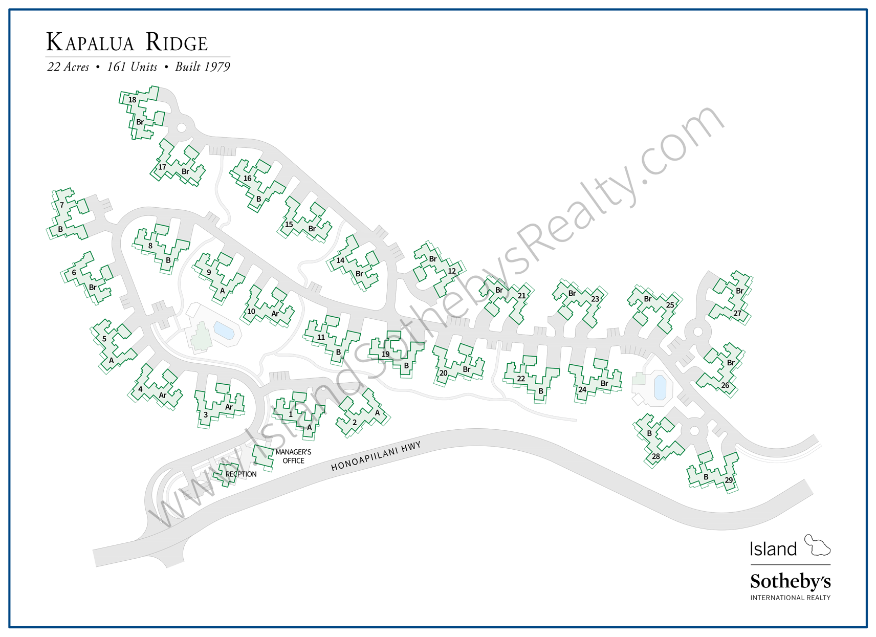 kapalua ridge map