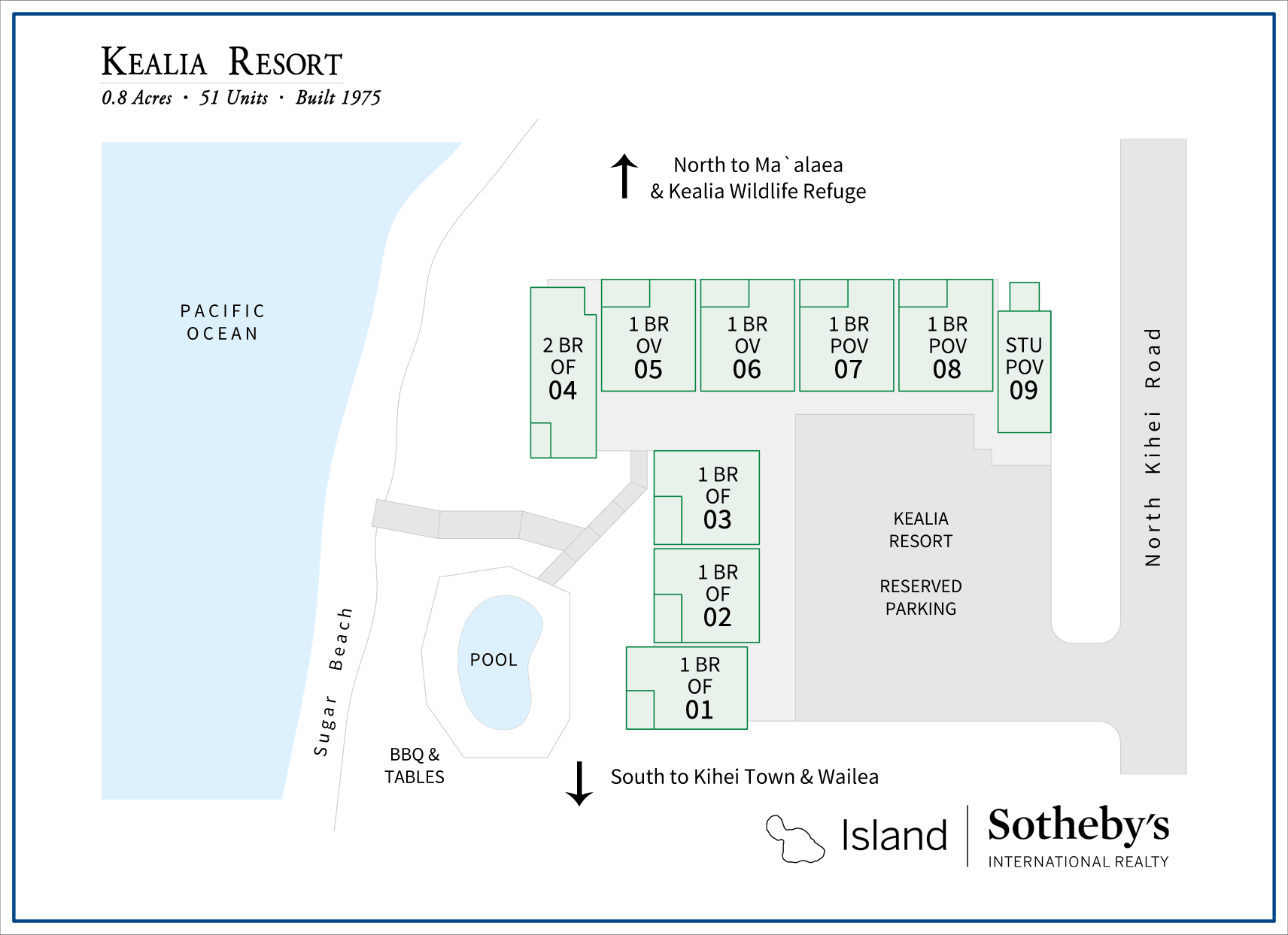 kealia kihei map