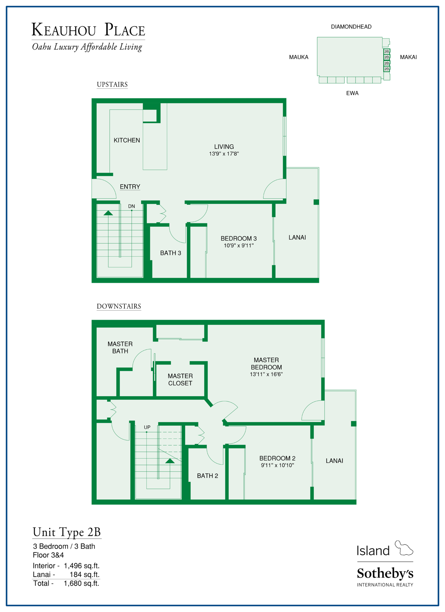 keauhou place floorplan honolulu