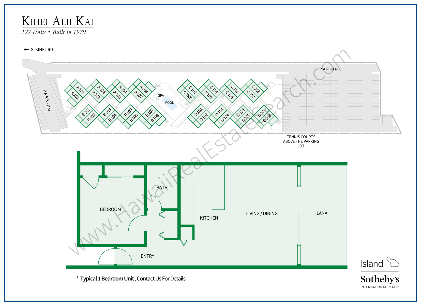 Kihei Alii Kai Property Map