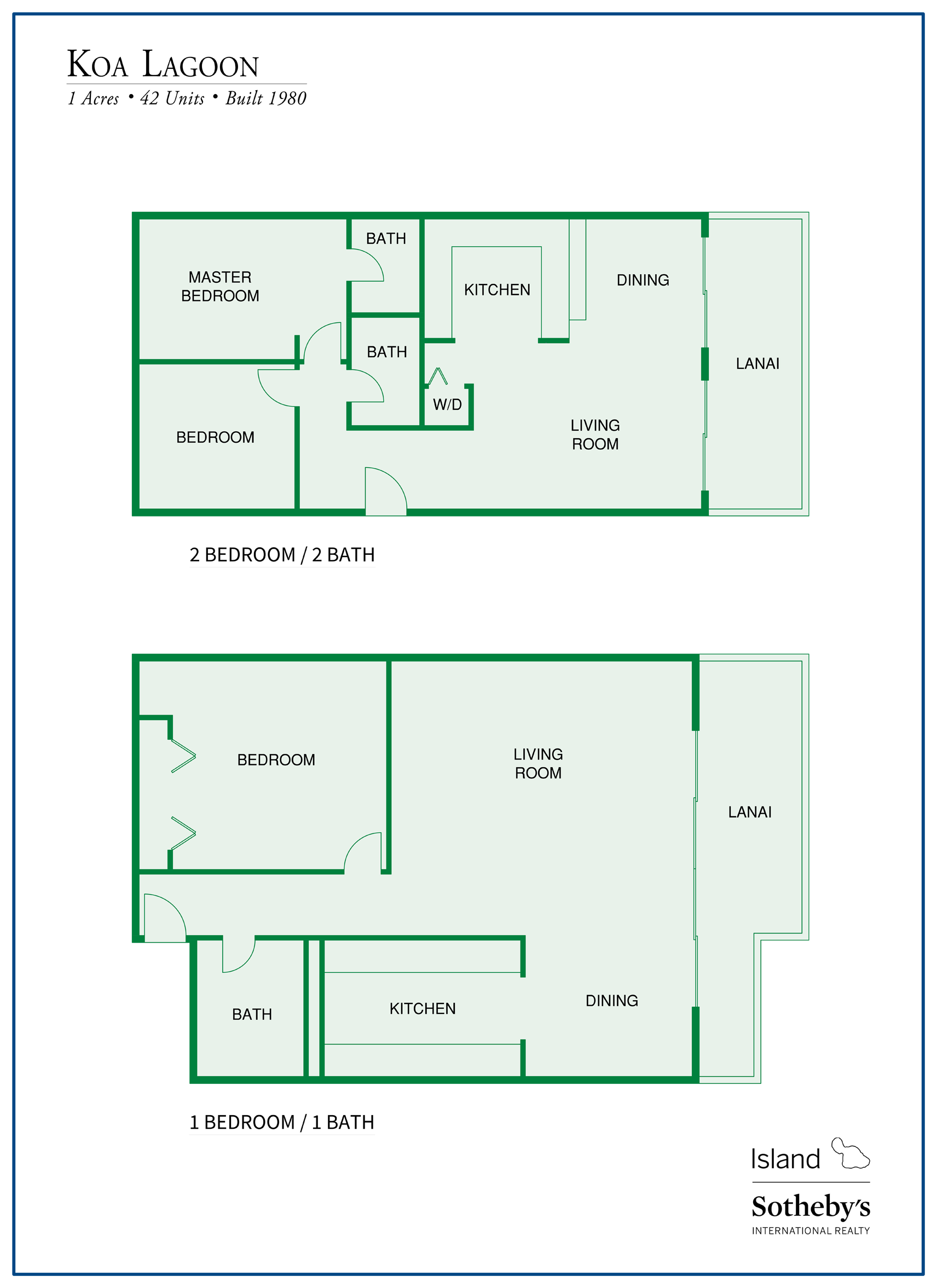 koa lagoon floor plans
