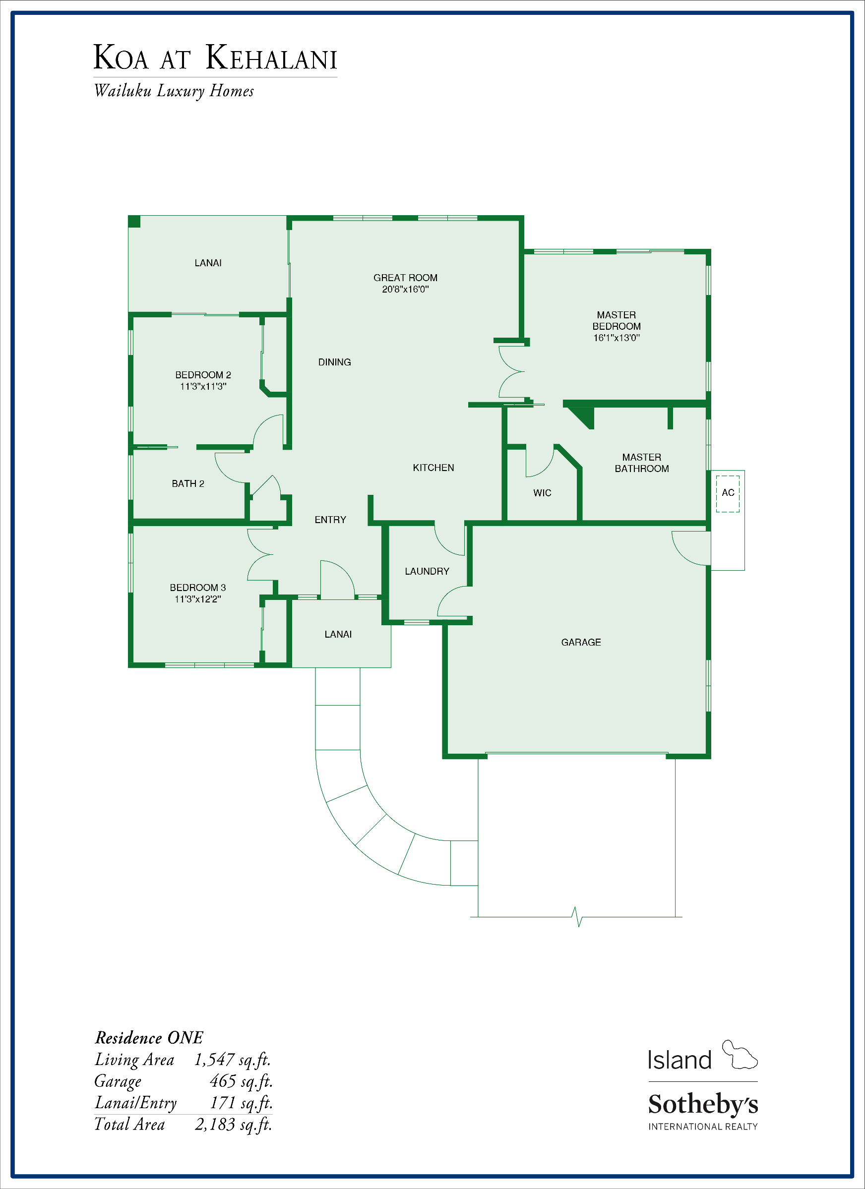 floor plan koa at kehalani