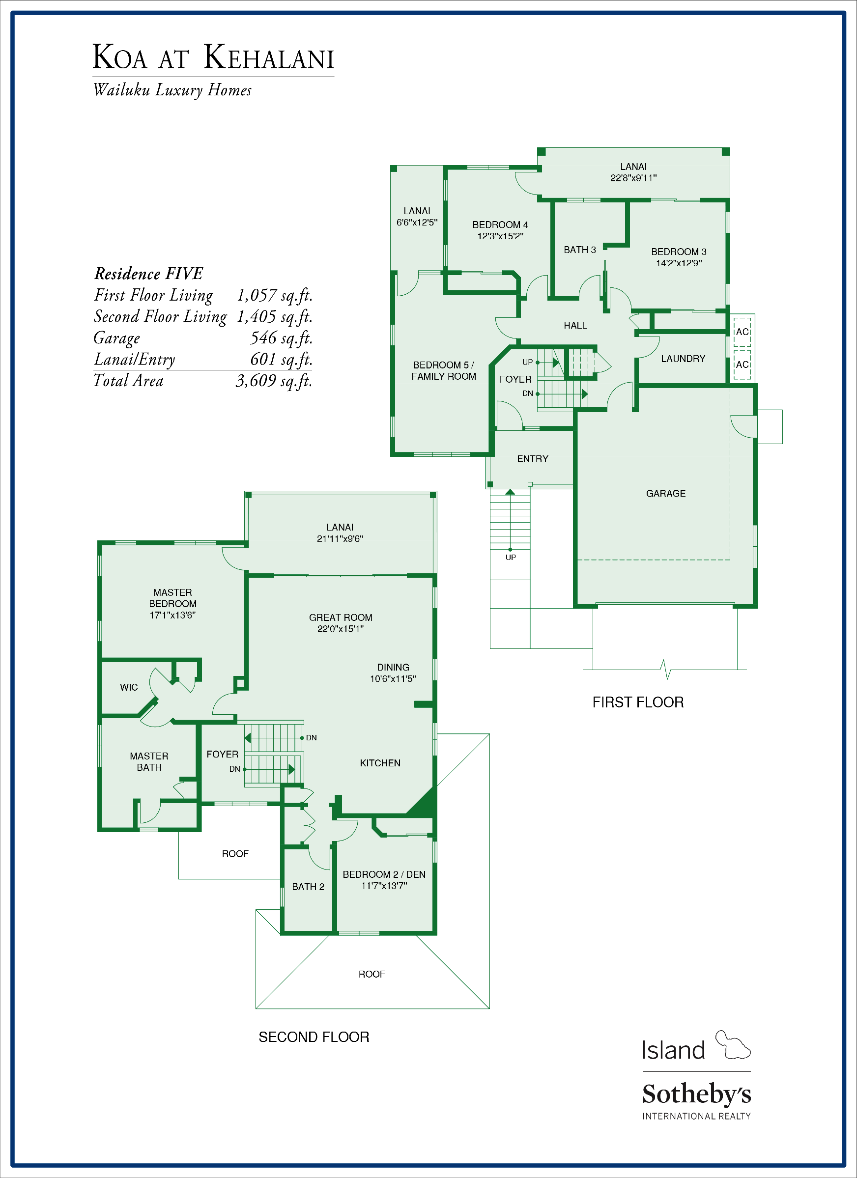 koa at kehalani floorplans all