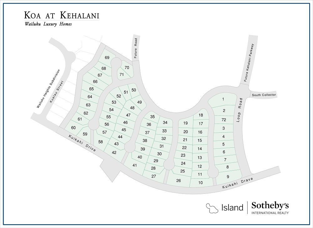 koa at kehalani map