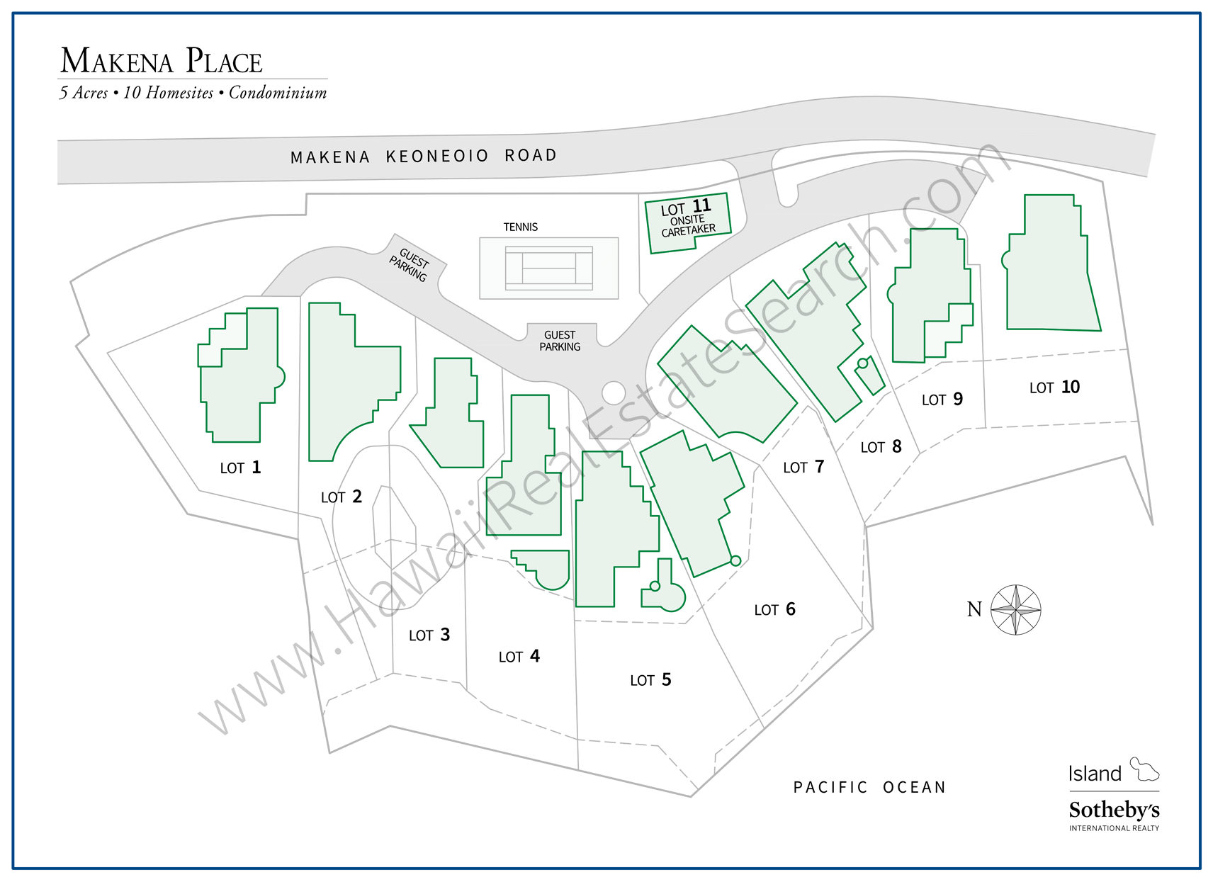 Makena Place Map Updated