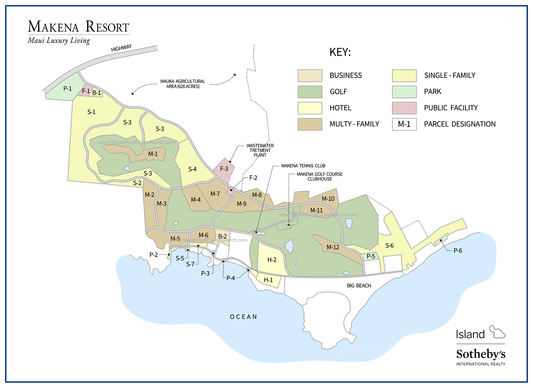 makena resort map 2018