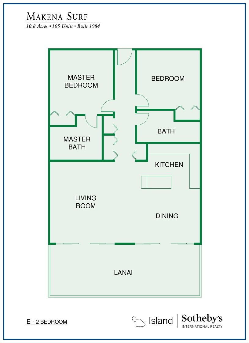floor plan makena surf