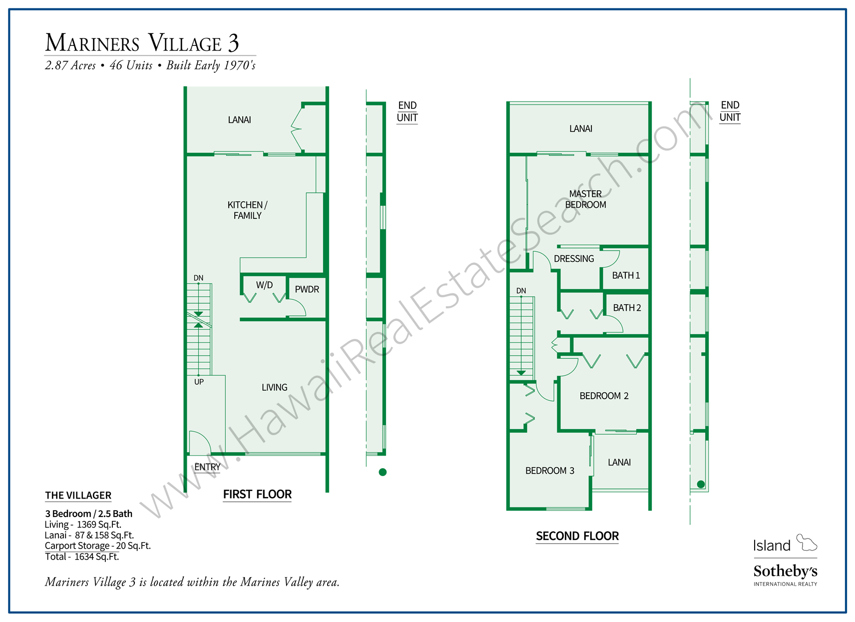 Mariners Village Floor Plan The Villager