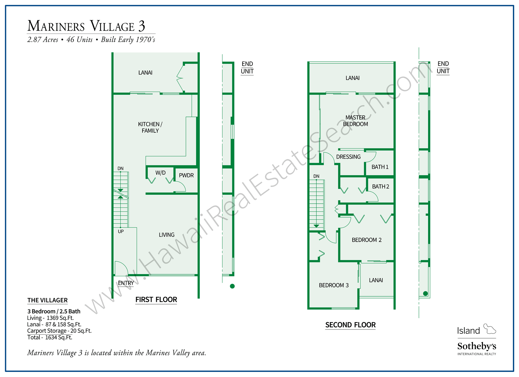 Floor Plan Villager Mariners Village