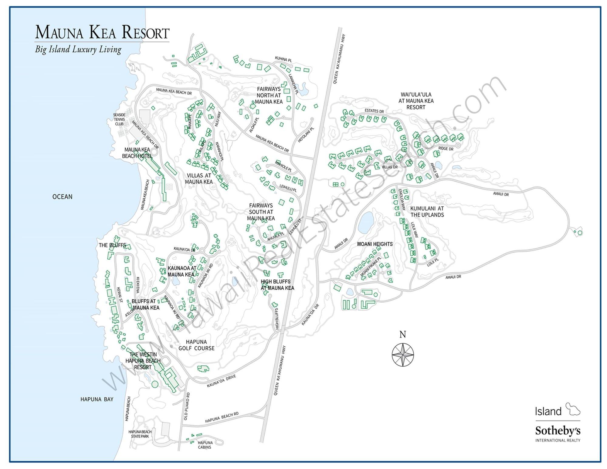 Mauna Kea Resort Real Estate Big Island Luxury Homes And