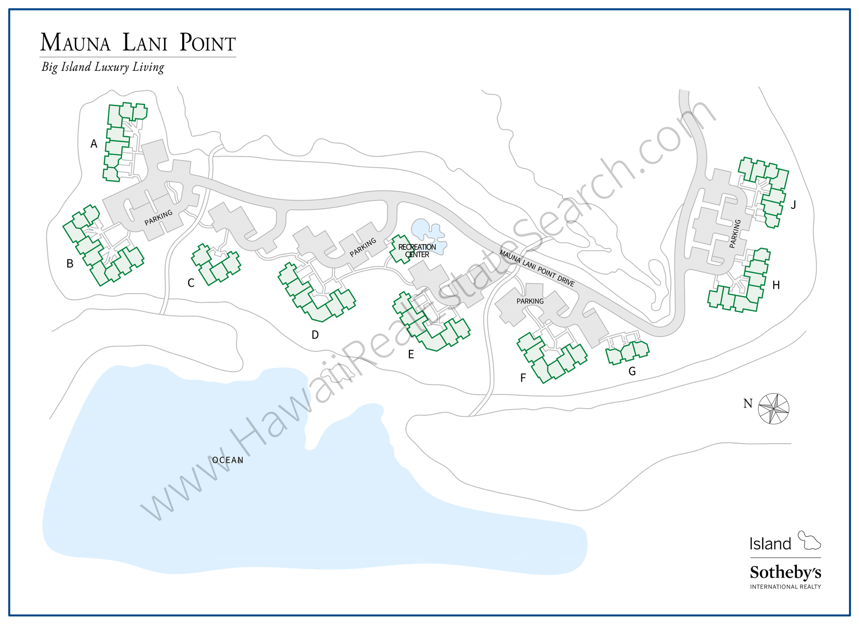 Mauna Lani Point Property Map