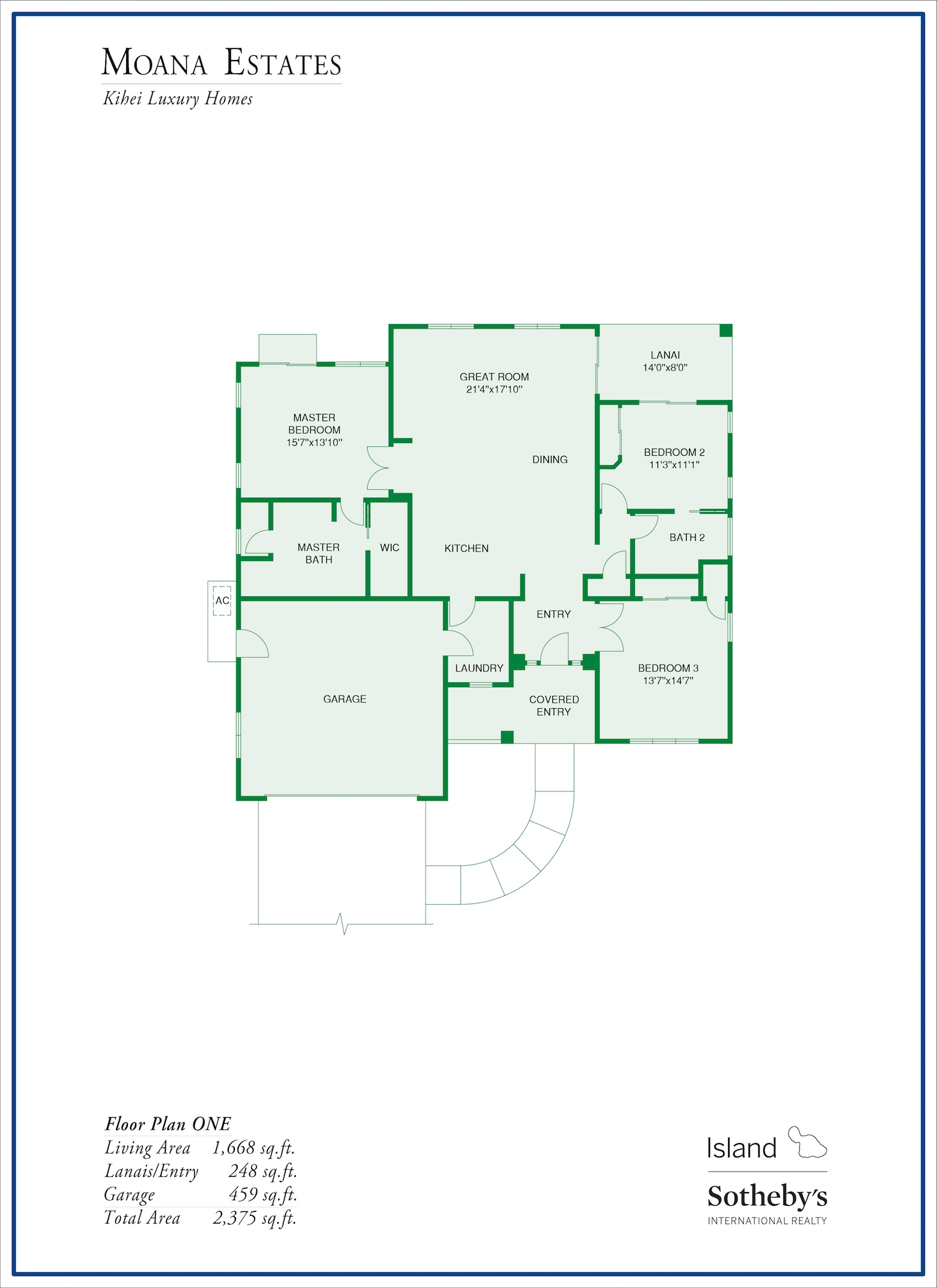Moana Estates Floor Plan 1