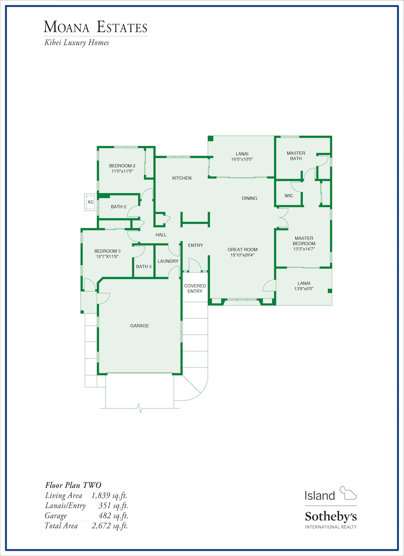 Moana Estates Floor Plan 2