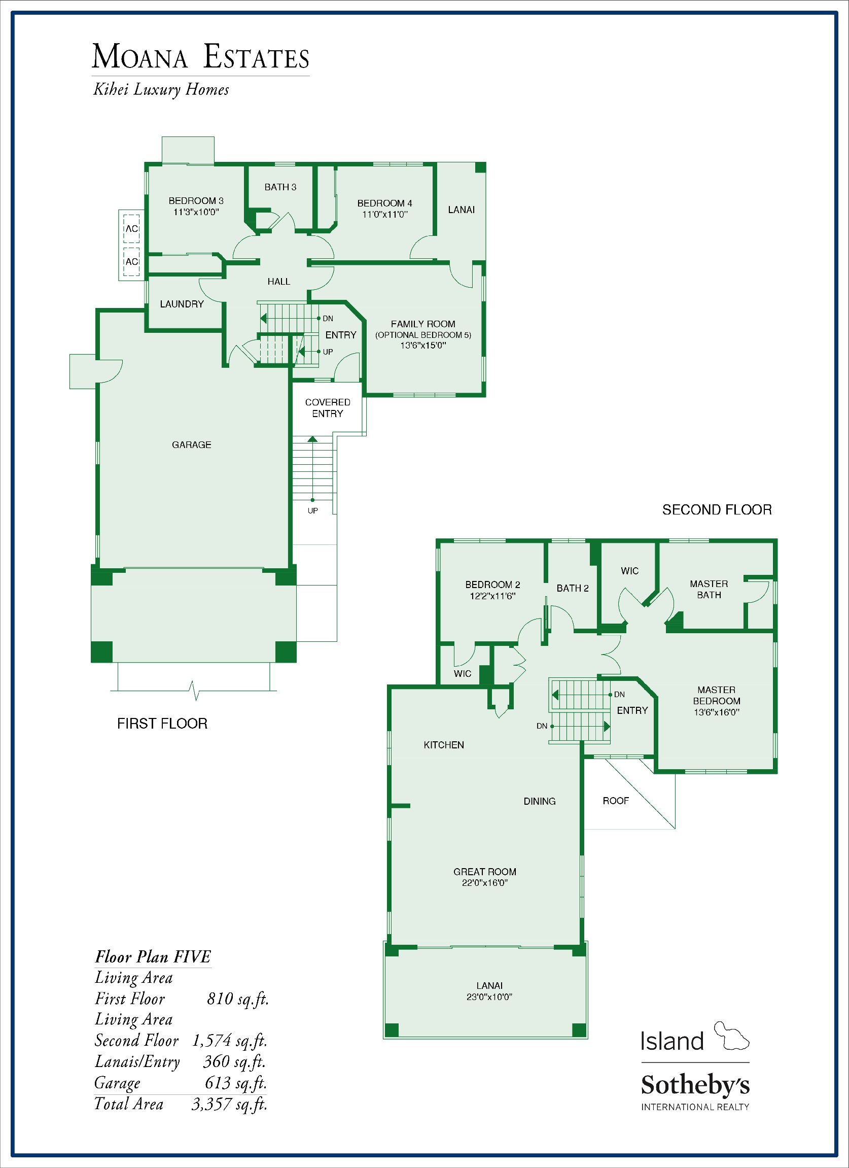 Moana Estates Floor Plan 5