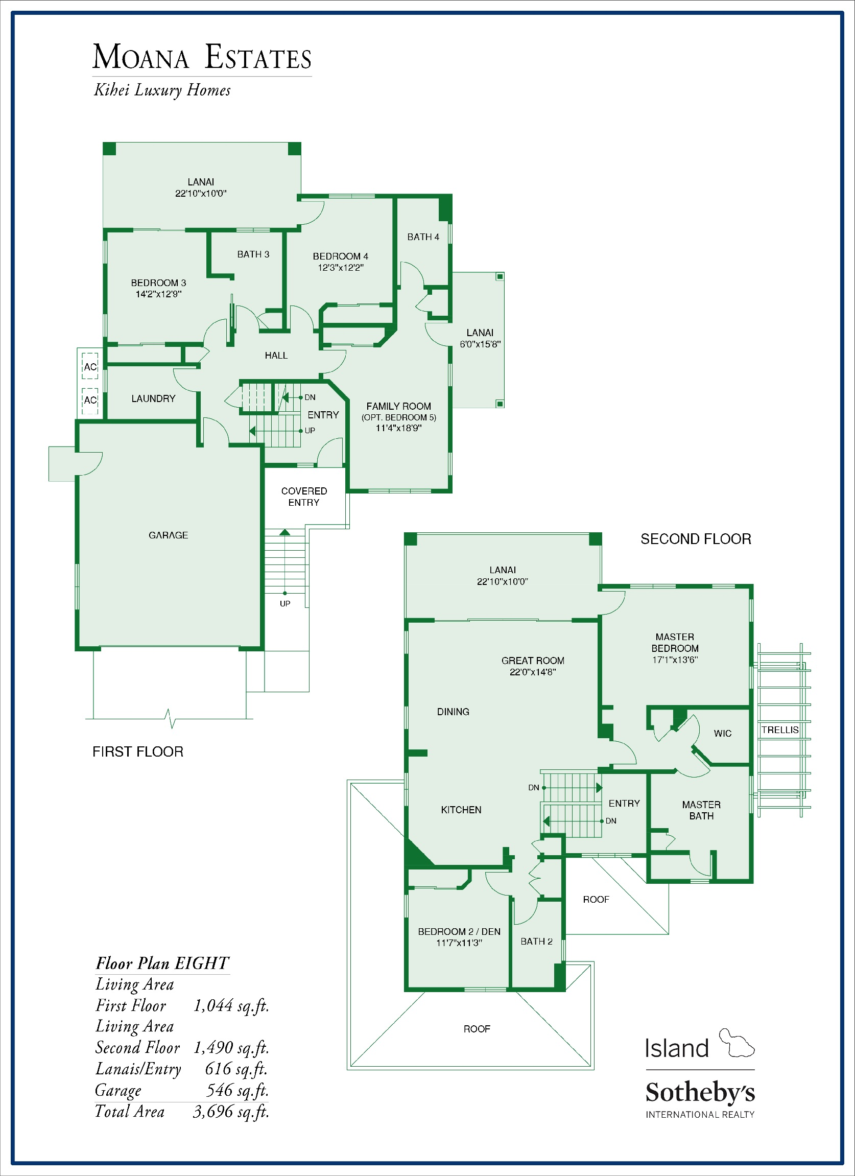 Moana Estates Floor Plan 8