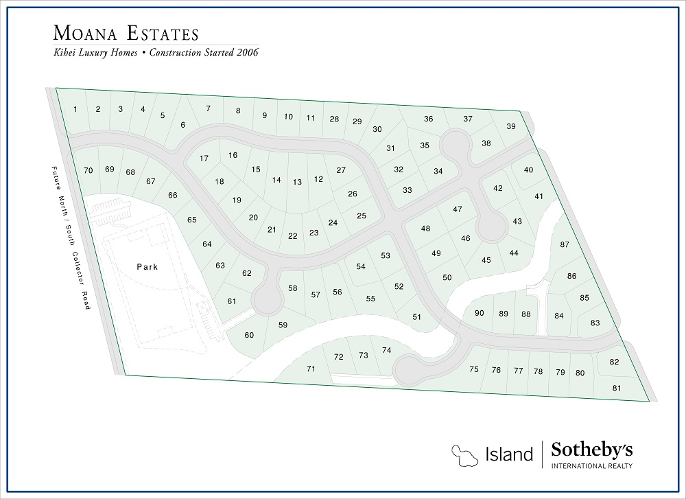 moana estates map