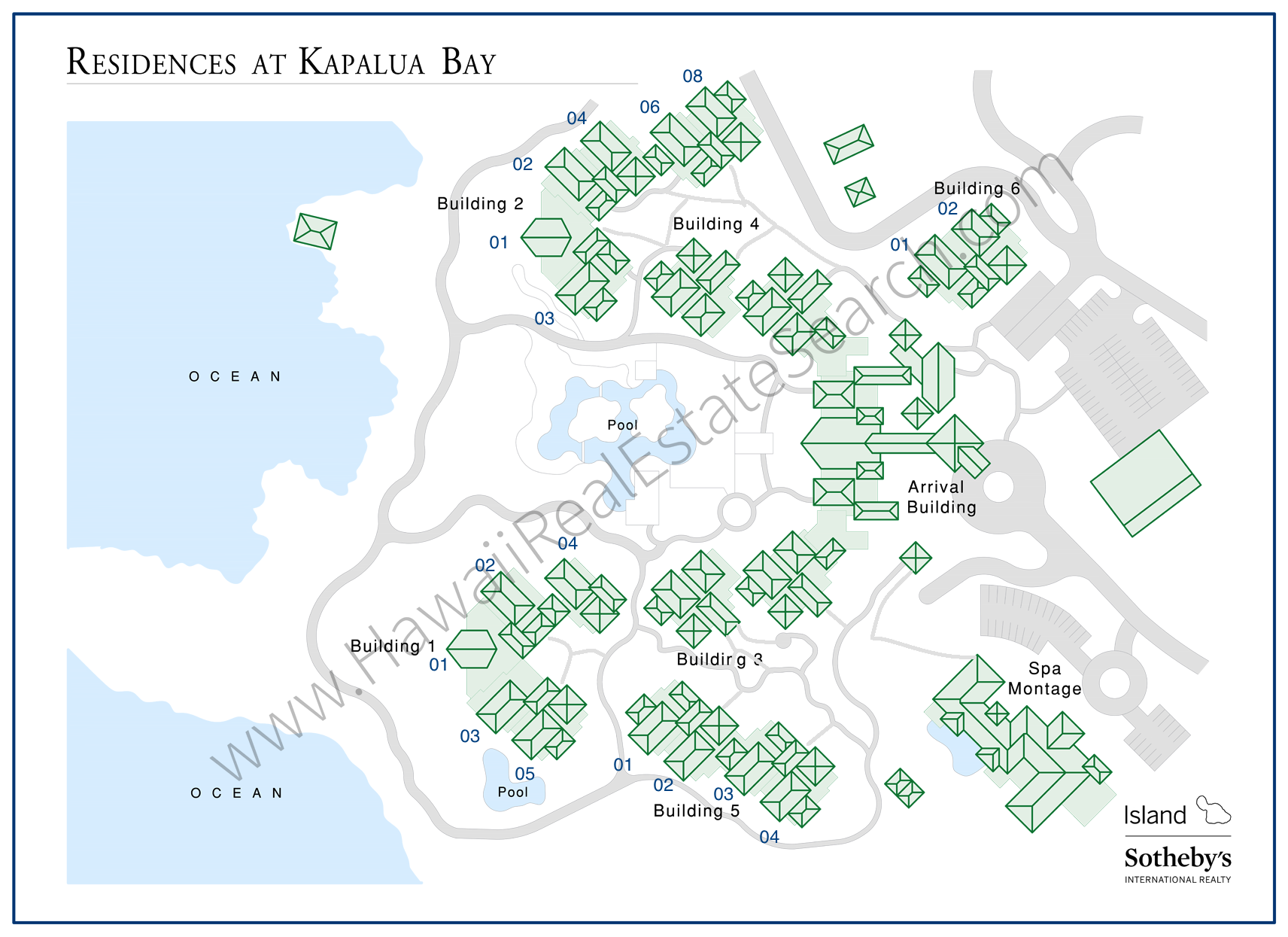 montage kapalua map