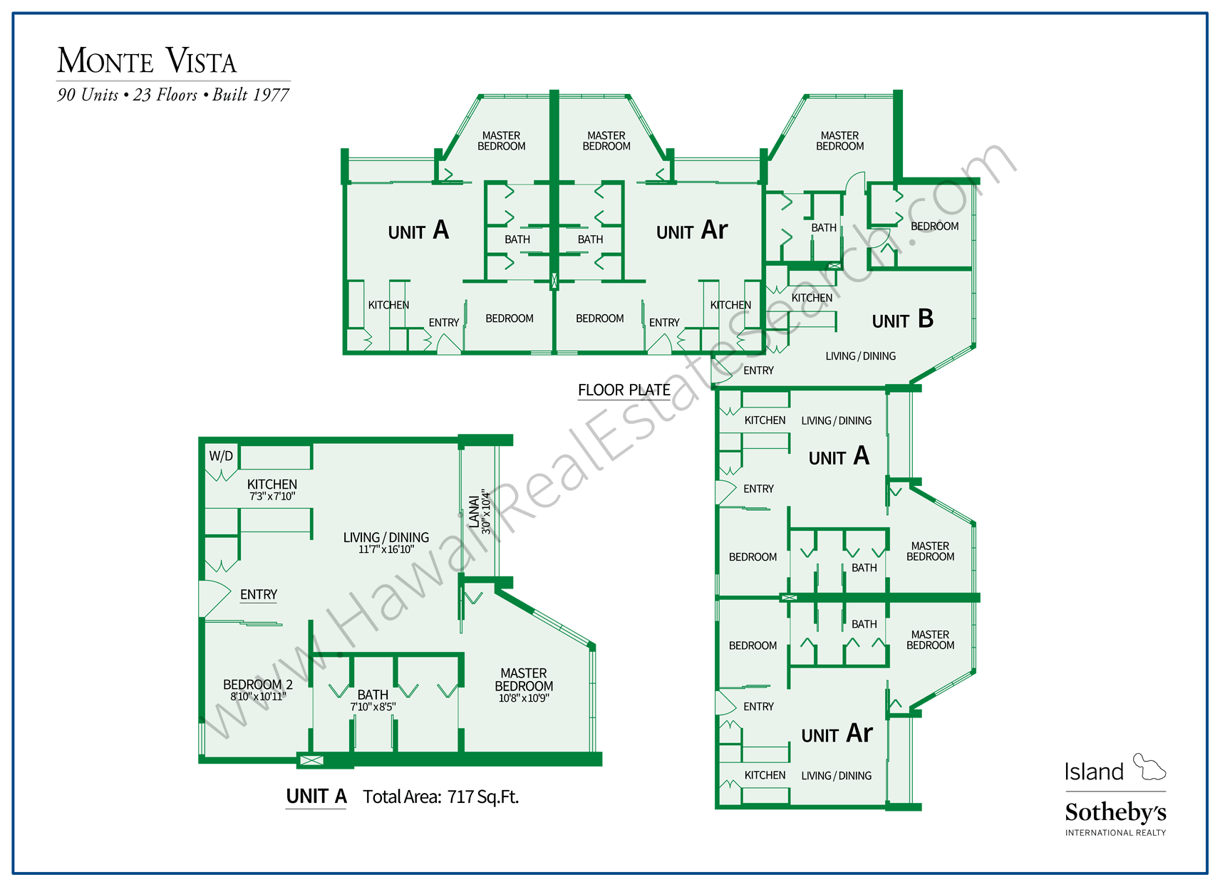 Monte Vista Property Map